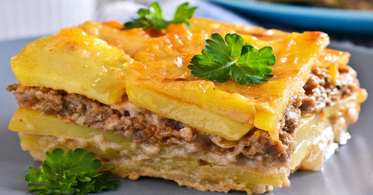 Meat And Potato Gratin