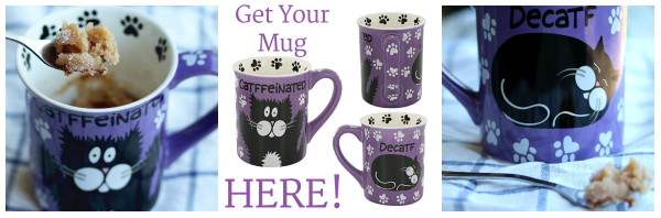 Cat Mug Button